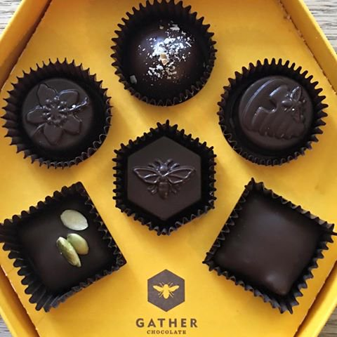 Six Gather Chocolates